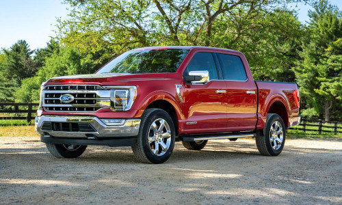 The new Ford F-150 Lariat truck.